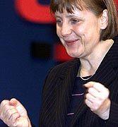 Versprach eine selbstbewußte Oppositionspolitik: CDU-Chefin Angela Merkel