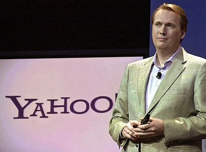 Yahoo-Manager Börries: Sein Markenzeichen sind Krawatte und Einstecktuch