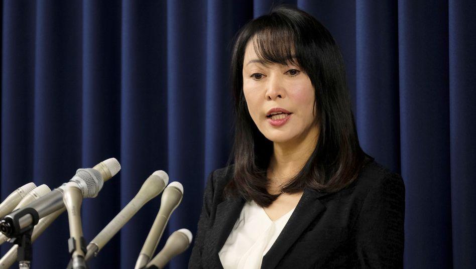 Justizministerin Masako Mori