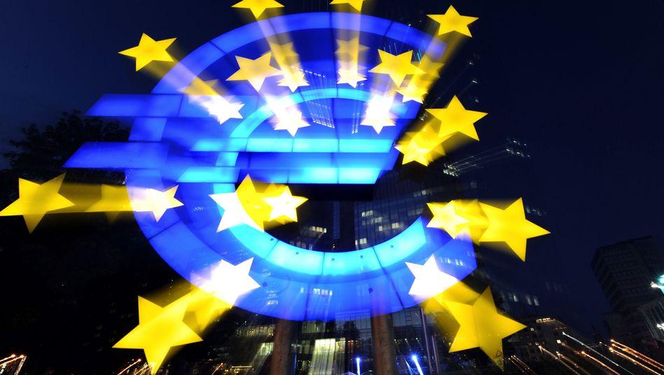 An Strahlkraft verloren: Die Folgen der Schuldenkrise werden die Wirtschaftsleistung der Euro-Zone weiter drücken
