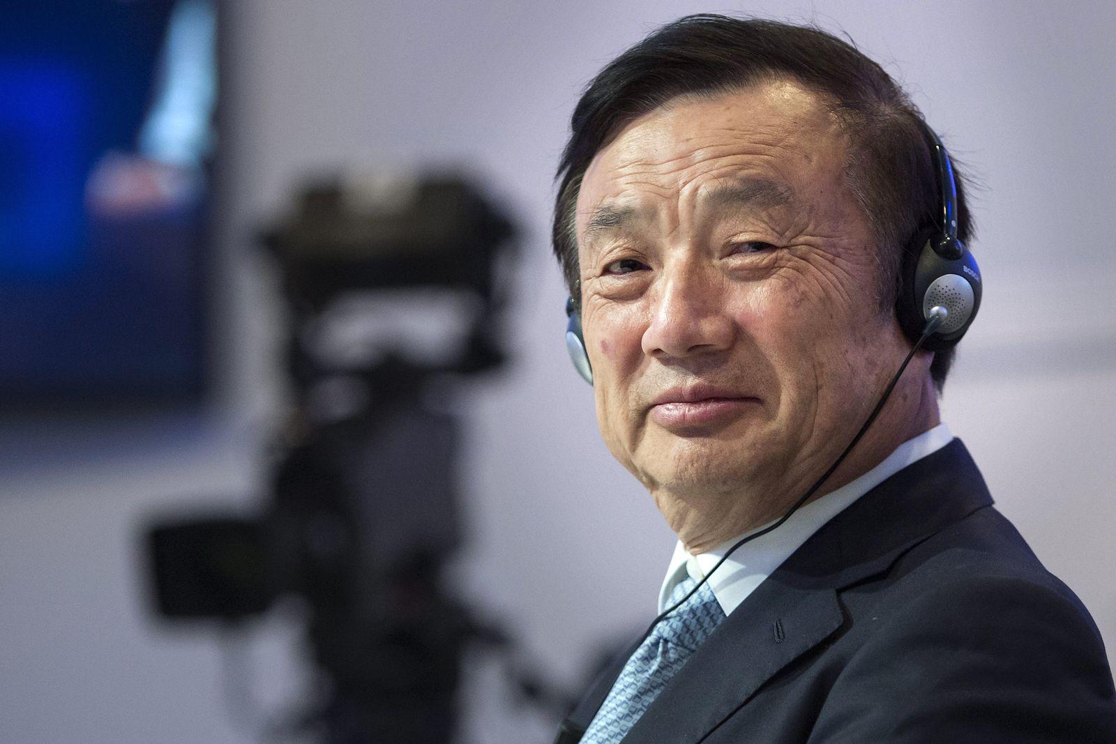 Ren Zhengfei / Chinesische Bosse