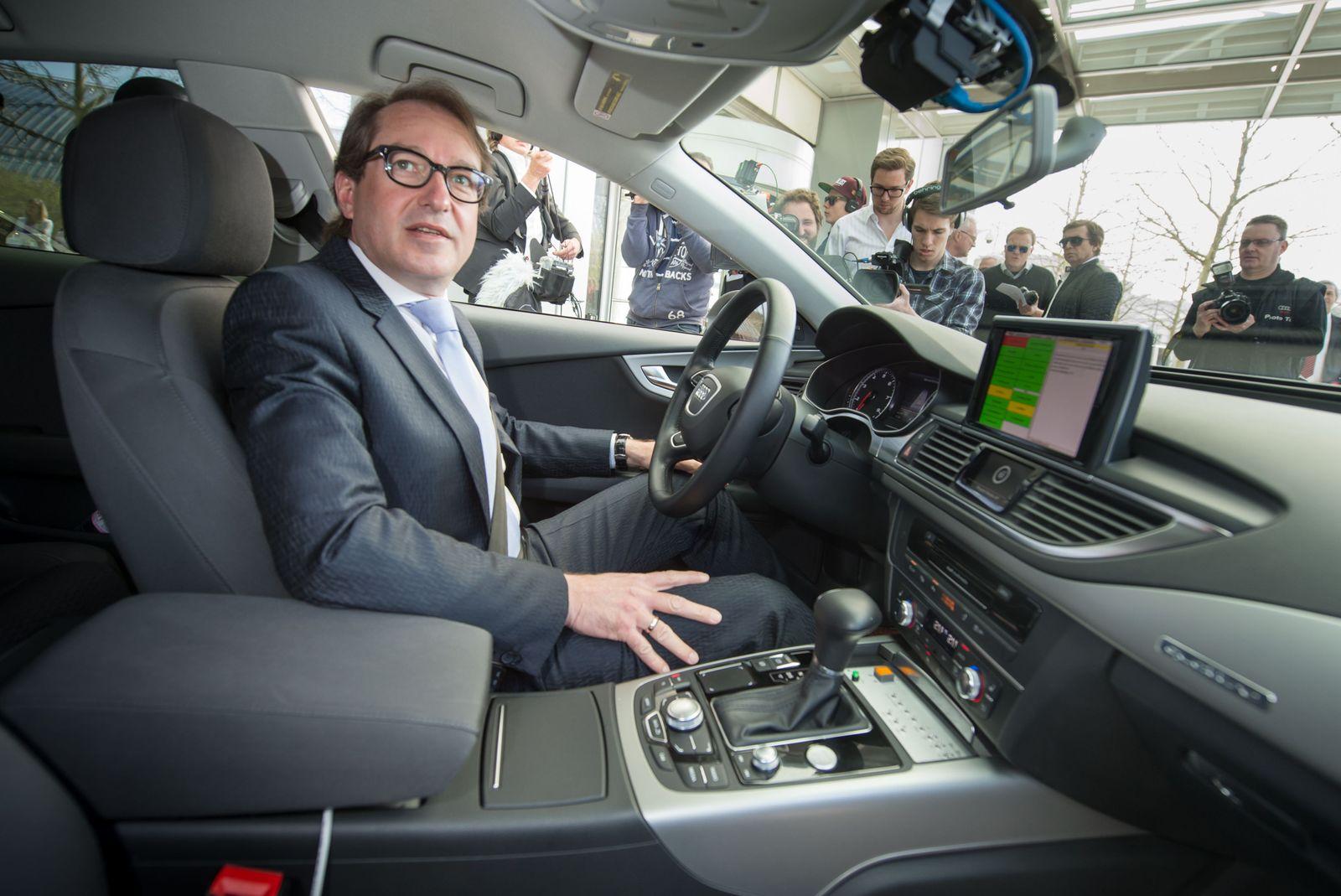 Audi Abgaswerte/ Dobrinth testet Audi A7