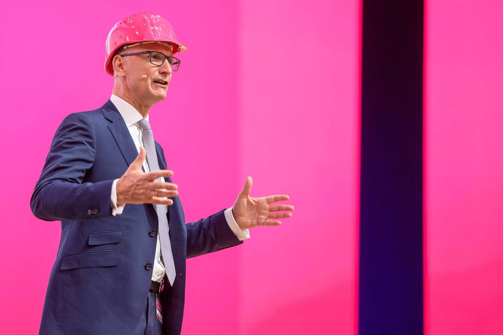 Jahres Hauptversammlung Deutsche Telekom AG 17 05 2018 CEO Vorstandsvorsitzendem Timotheus Höttge