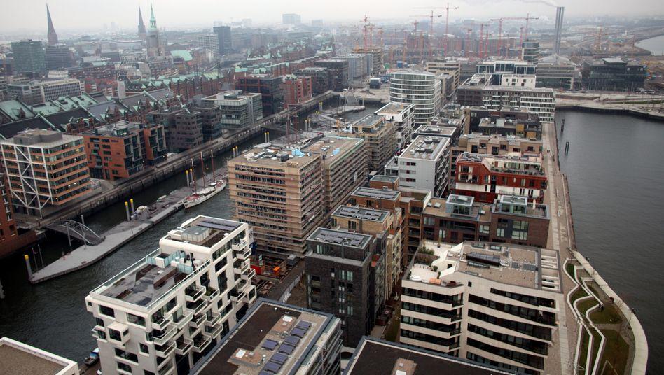 Hafencity in Hamburg: Ein Ende des Runs ist nicht in Sicht