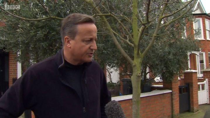 """""""Ich bereue nichts"""": Ex-Premier David Cameron"""