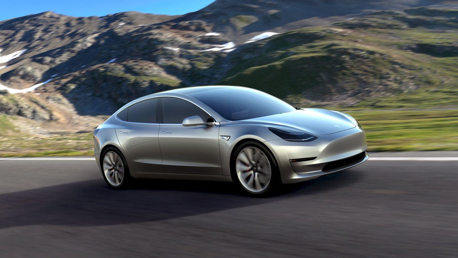 EINMALIGE VERWENDUNG Tesla Model 3