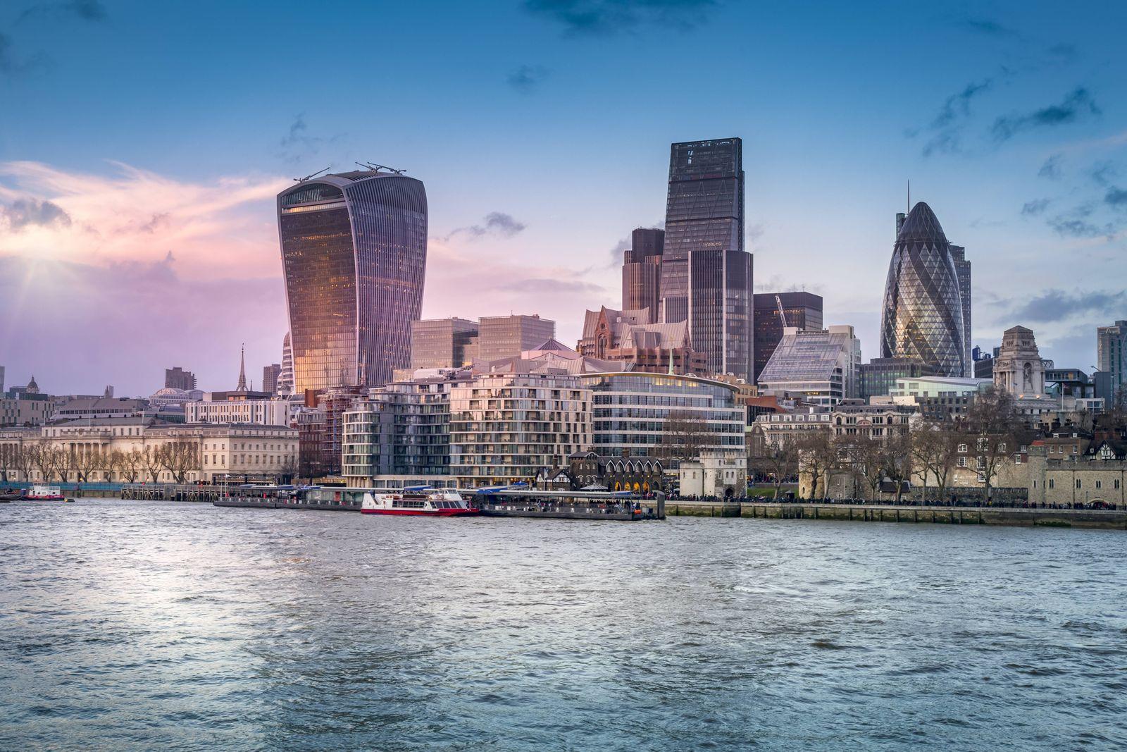 London Hochhäuser / Walkie Talkie