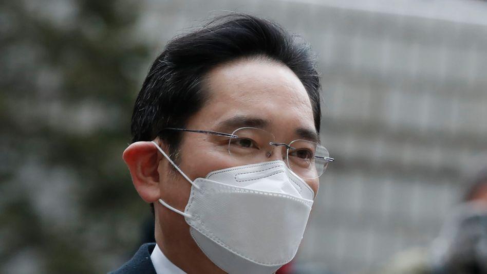 Muss wohl für eineinhalb Jahre ins Gefängnis: Samsung-Erbe Lee Jae Yong