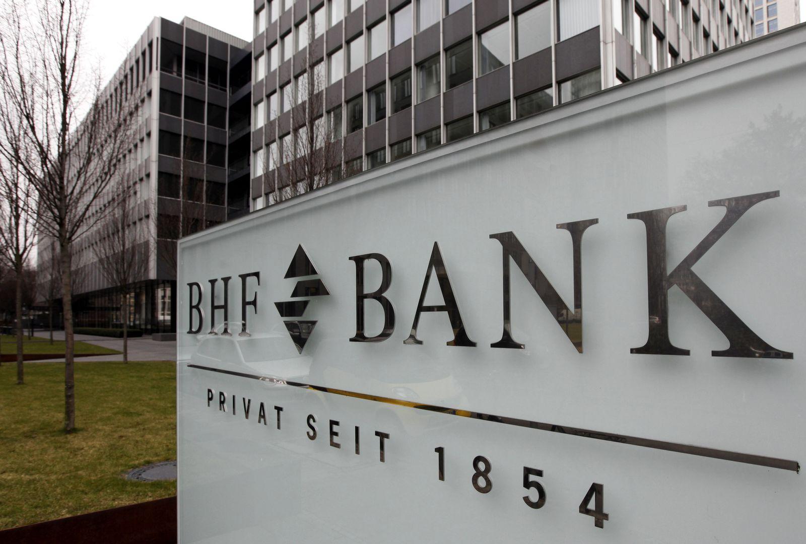 NICHT VERWENDEN BHF Bank / Frankfurt