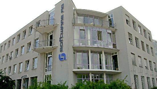 Software-AG-Zentrale in Darmstadt: 10 Prozent weniger Umsatz im vierten Quartal