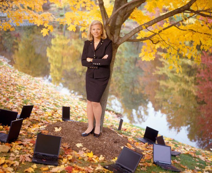 "IBM-Chefin Virginia ""Ginny"" Rometty"