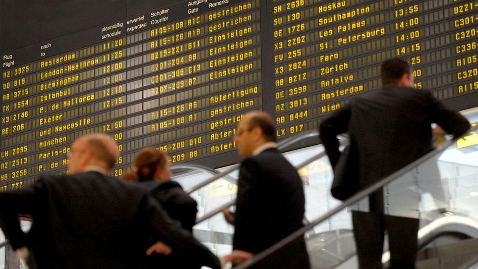 Flughafen: Ab Mittwoch kann es zu Flugausfällen kommen, sofern Fluggesellschaften und GDF nicht noch eine Verhandlungslösung erzielen