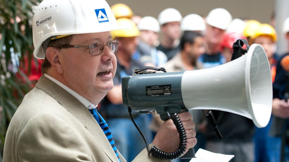 Rücktritt: Hochtief-Betriebsratschef Müller will auch aus der IG Bau austreten