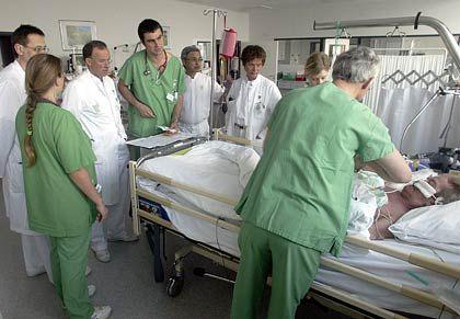 Krankenhaus: Für ihre Gesundheit müssen die Bundesbürger immer tiefer in die Tasche greifen