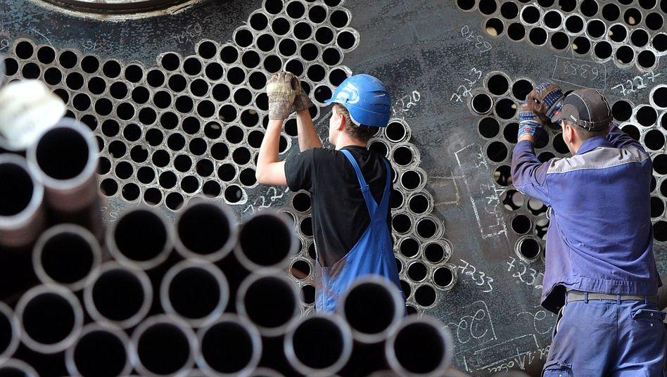 Gasbrennkessel: In Deutschland kündigt sich ein Strukturwandel an, den andere Länder bereits hinter sich haben