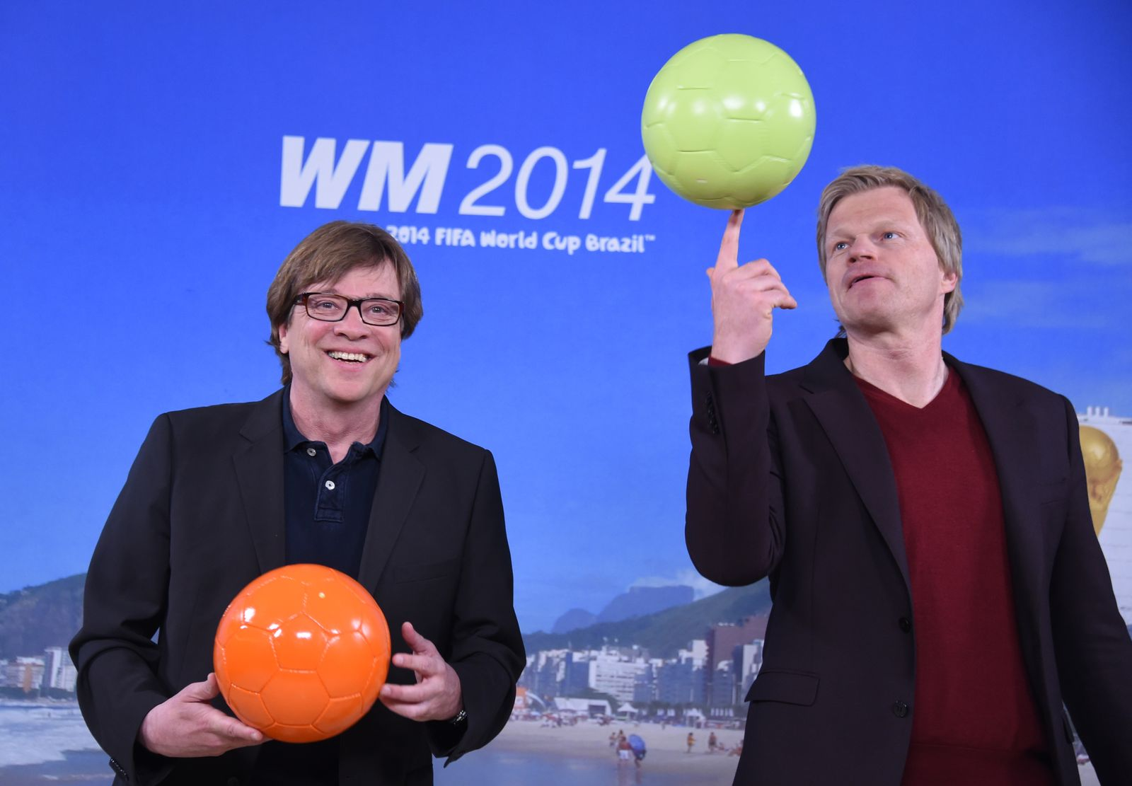 ARD und ZDF zur WM 2014 / Kahn / Rethy
