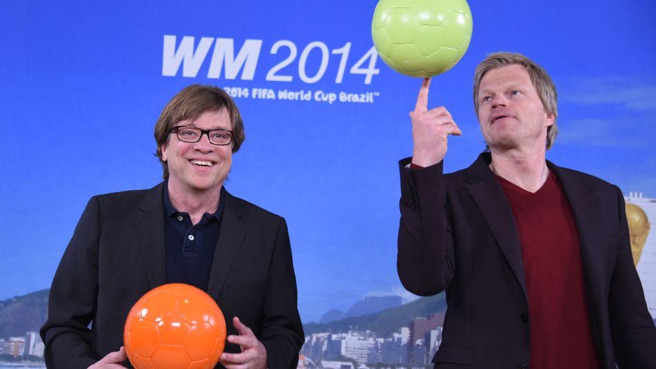 Sie sind, nett ausgedrückt, Polarisierer: ZDF-WM-Kommentator Bela Reth (links) und ZDF-WM-Experte Oliver Kahn.