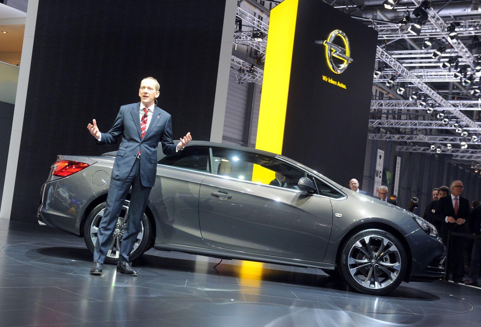 Genf 2013 / Rundgang / Opel Cascada