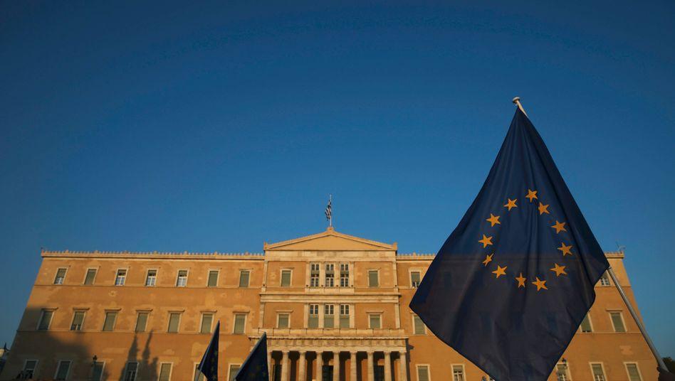 Parlament in Athen: Tsipras will die Reformvorschläge bereits am Freitag im griechischen Parlament einbringen