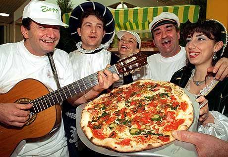 Lecker Pizza: Die belegte Teigware gilt als eines der Nationalgerichte Italiens