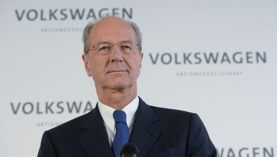 Volkswagen-Aufsichtsratsvorsitzender Hans Dieter Pötsch