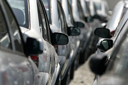 Auf Halde: Autos lassen sich immer schwieriger verkaufen