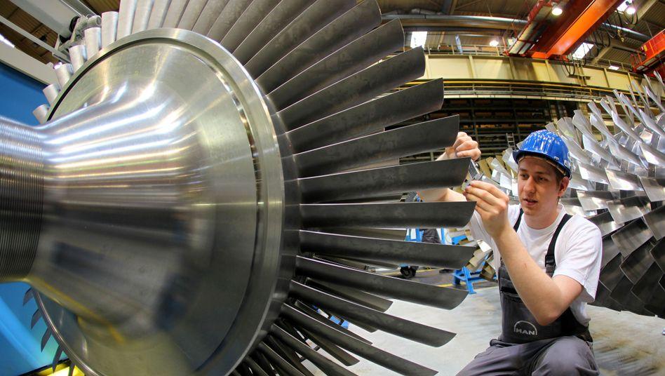 Erfolgsmodell: Der deutsche Maschinenbau legt zu