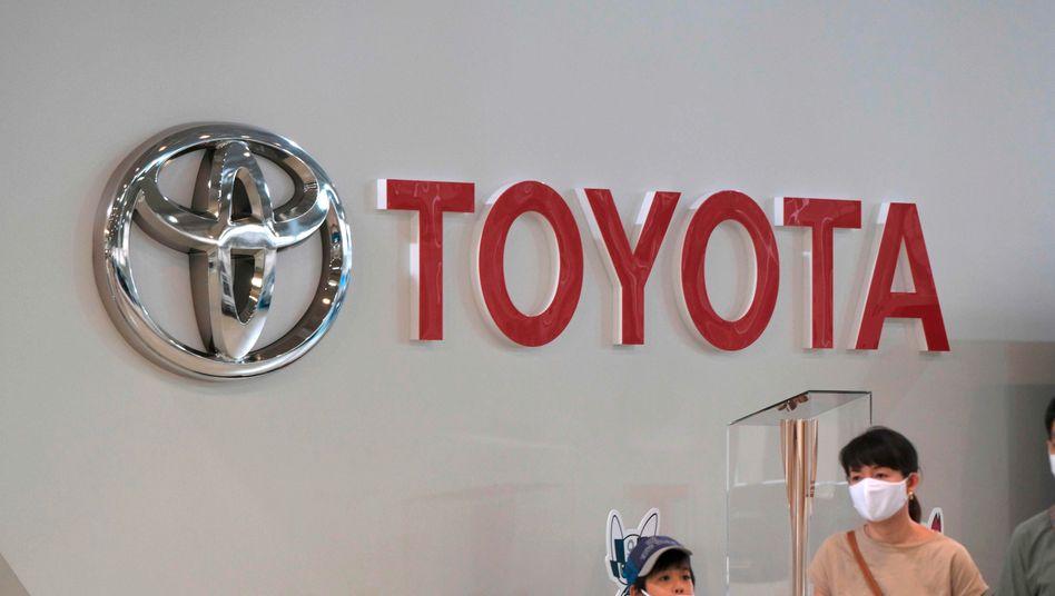 Überraschend schnelles Comeback: Toyota-Verkaufsraum in Tokio