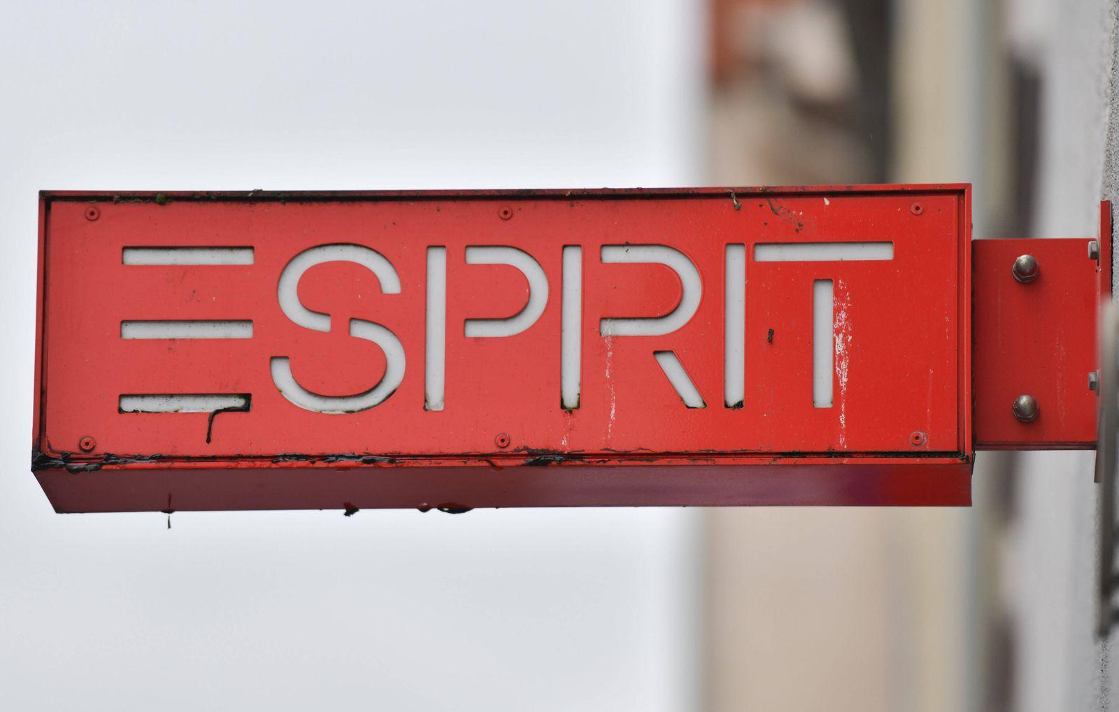 Logo an einer Filiale von Esprit Friedberg