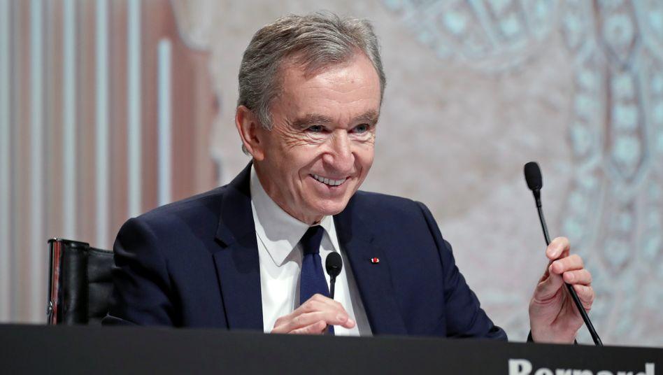 """""""Ich denke, ihre Ansichten sind demoralisierend für junge Leute"""": Bernard Arnault"""