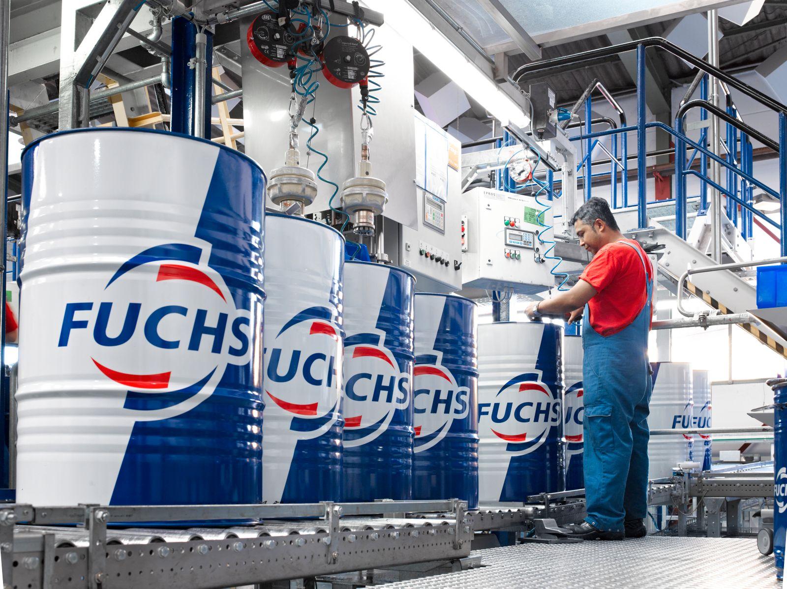 Fuchs Petrolub / Produktionsanlagen