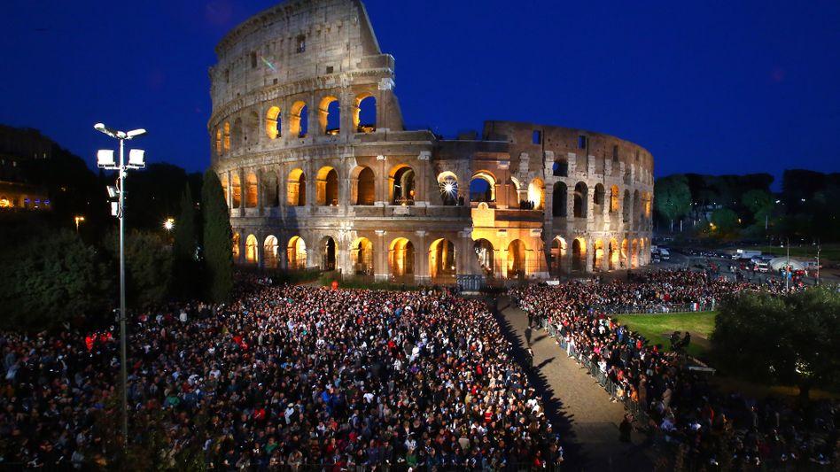 Prachtvoll: Das Kolosseum in Rom.