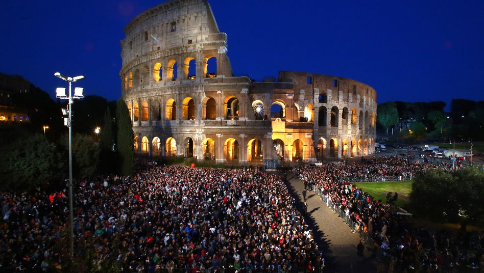 Colosseum in Rom: Noch gewaltiger ist der römische Schuldenberg