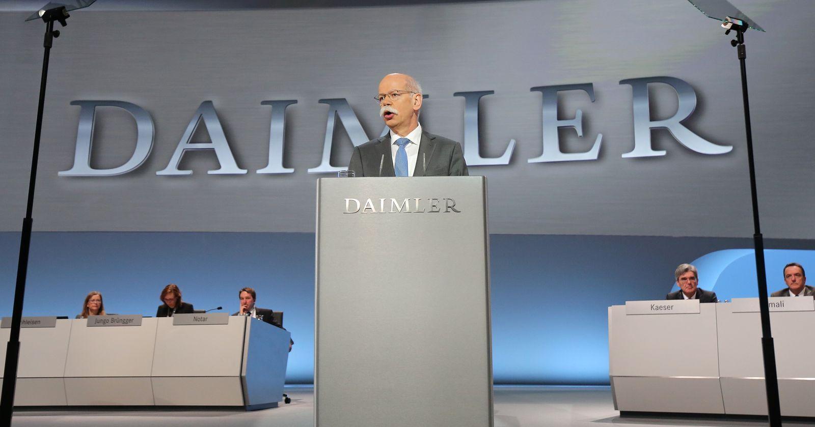 Daimler Hauptversammlumg