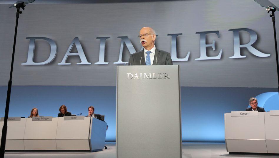 Daimler-Hauptversammlung: Was der Chef sagt, ist wichtig. Wie es bei den Aktionären ankommt, darüber entscheiden in hohem Maße Stimme und Körpersprache