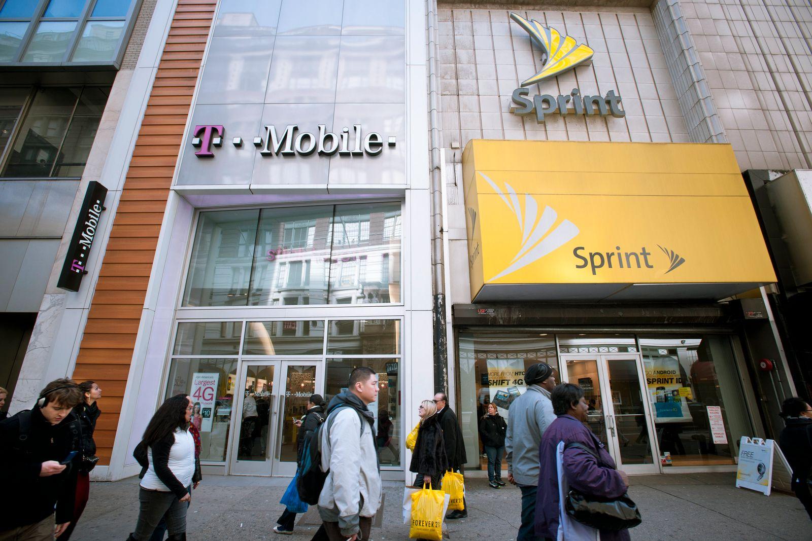 EINMALIGE VERWENDUNG T-Mobile and Sprint