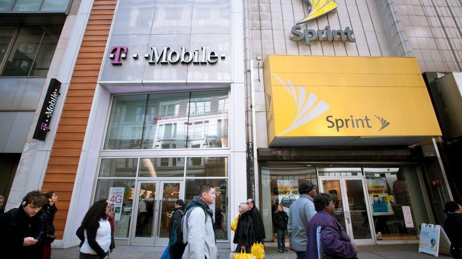 T-Mobile US und Sprint