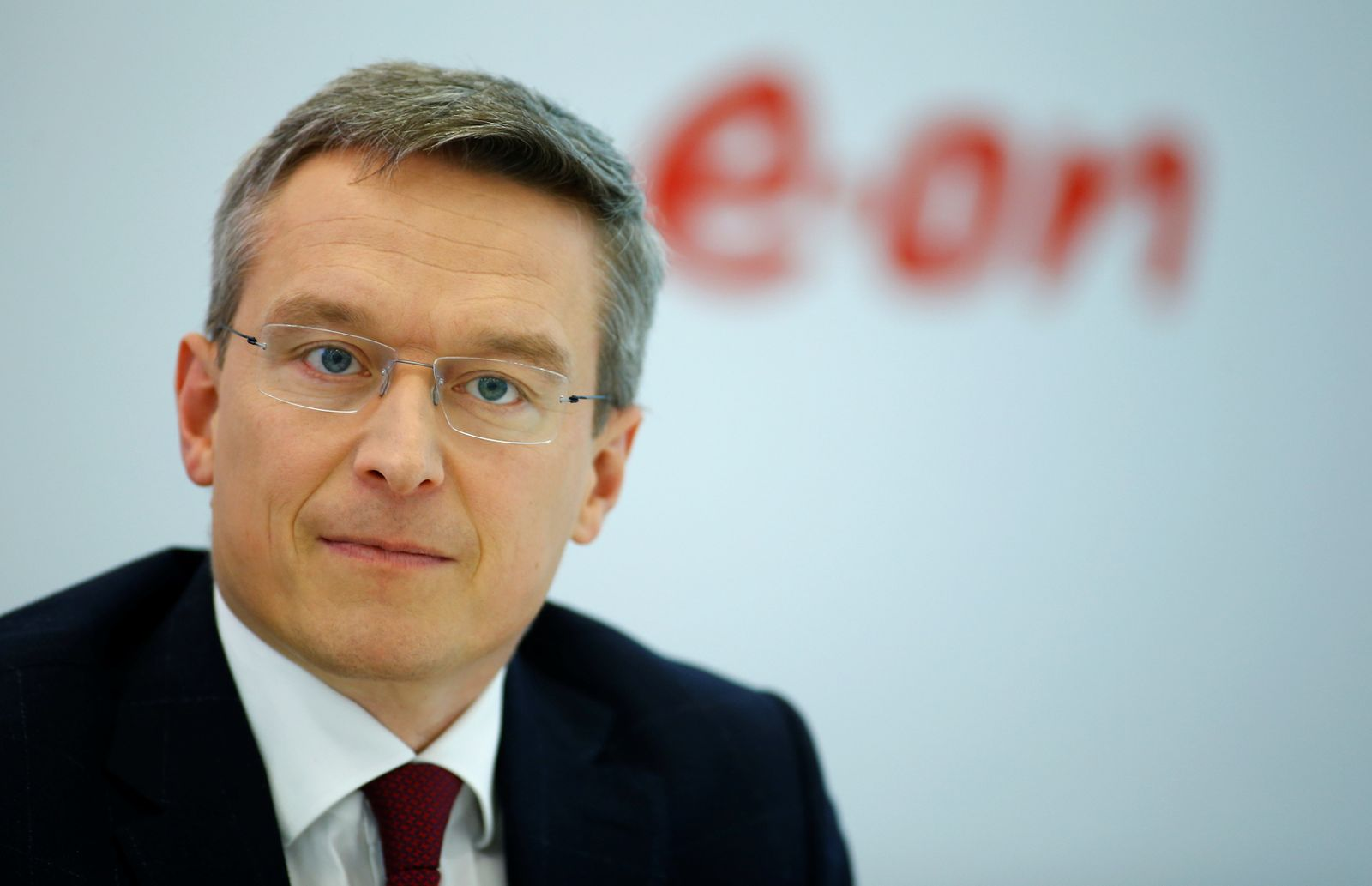 FILE PHOTO: E.ON Chief Operating Officer Commercial Wildberger during annual news conference in Essen