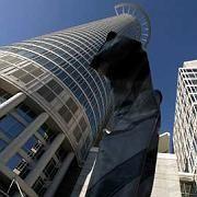 Zentrale der DZ-Bank: Volks- und Raiffeisenbanken sind wegen der Finanzkrise unter Druck geraten