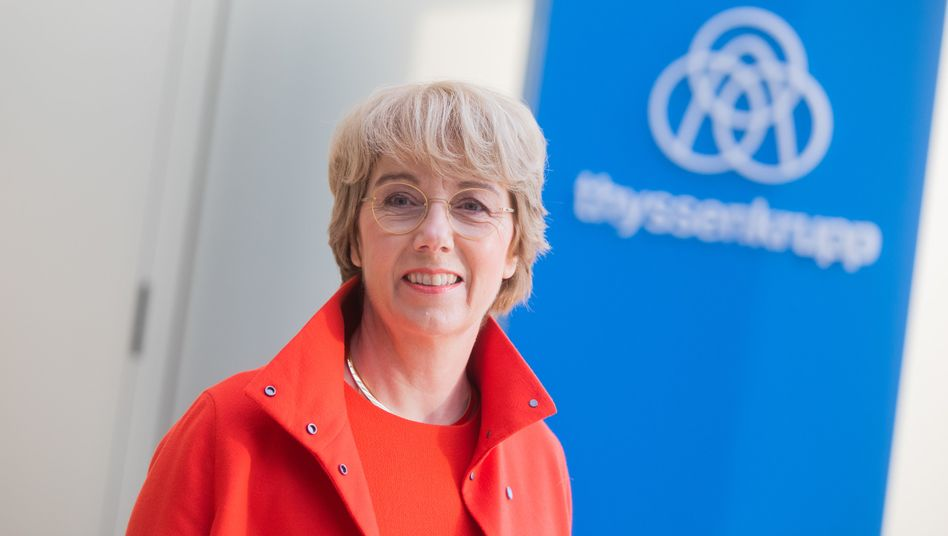 Martina Merz: Die Thyssenkrupp-Chefin drängt ihre Mitarbeiter zu mehr Tempo bei der Performance-Verbesserung
