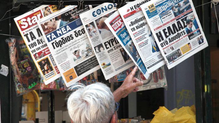 "Internationale Pressestimmen: ""Europa rächt sich an Tsipras"""