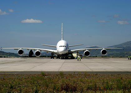 Der Größte: Airbus ist wieder führender Flugzeugbauer (im Bild der A380)