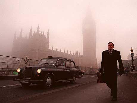 """London im Nebel: """"Die zwischenmenschliche """"Chemie"""" in Verhandlungen ist bei den Briten sehr viel wichtiger als in Deutschland"""""""