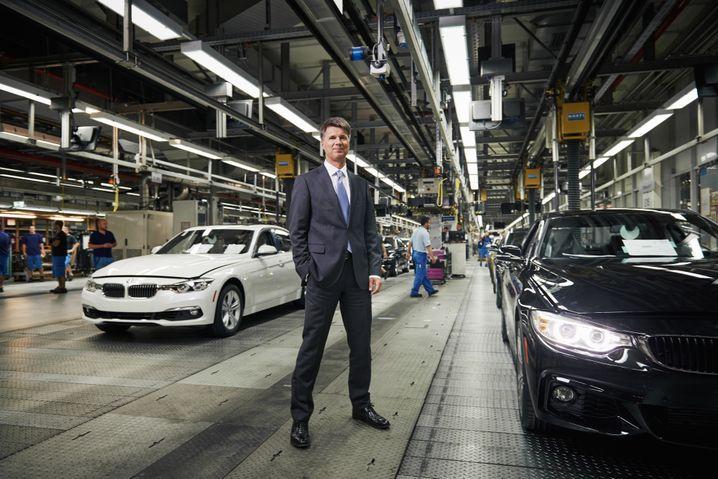 """BMW-Chef Harald Krüger: BMW setzte sich in der Kategorie """"Incumbents"""" durch"""