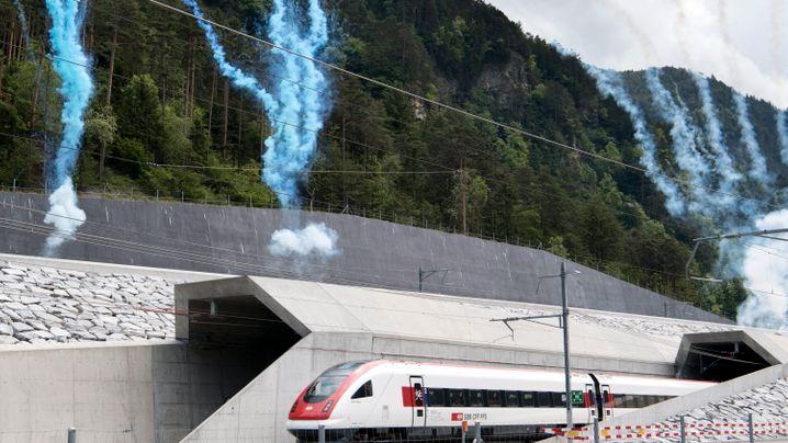 Gotthard-Eröffnung: Ein Schweizer Weltrekord