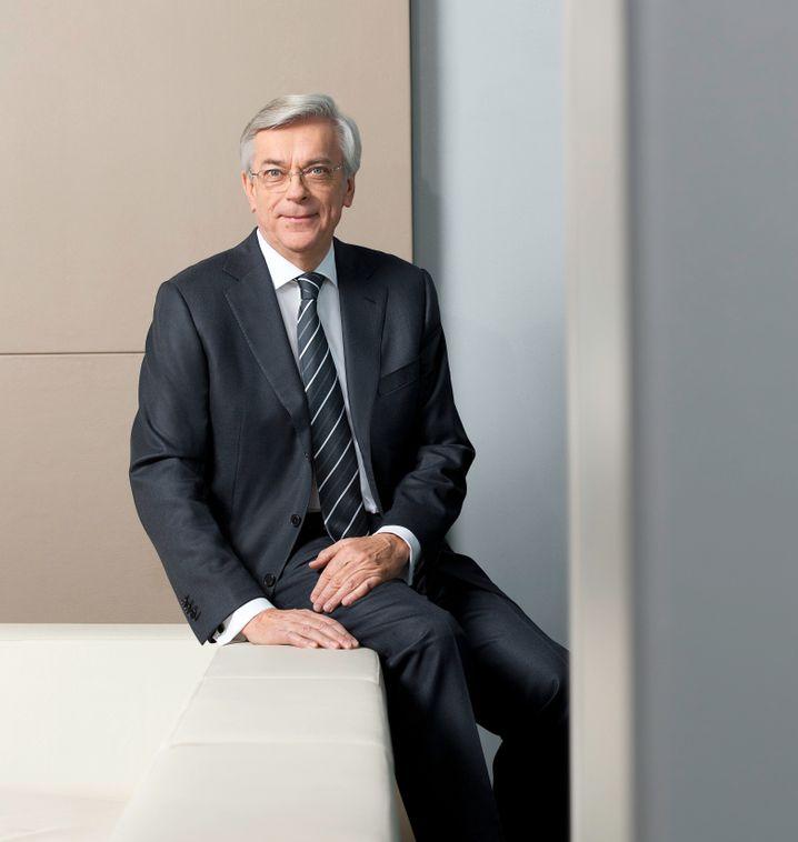 Glücklich in seiner Senioren-WG: Joachim Milberg ist 71 und Aufsichtsratsvorsitzender bei BMW