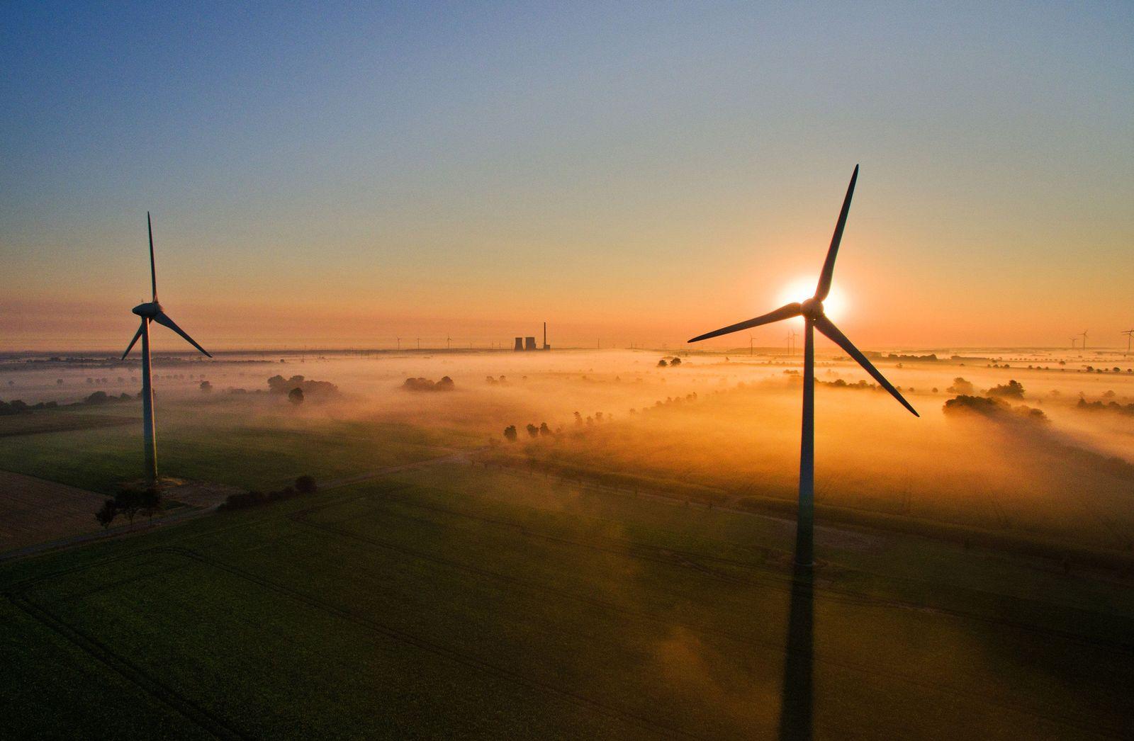 Windenergie / Windräder / Erneuerbare Energien / Erneuerbare Energie