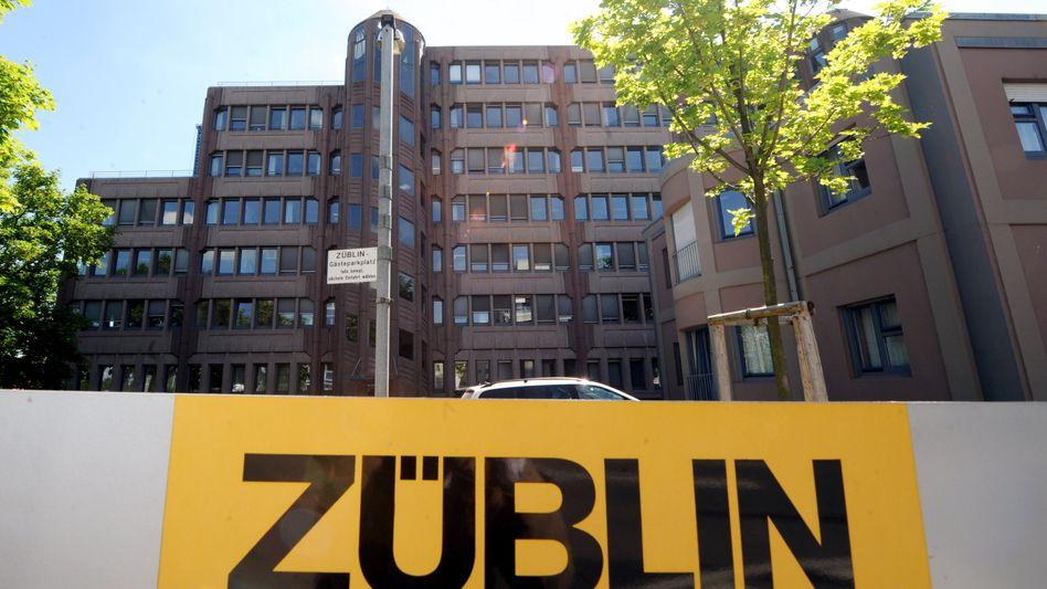 Züblin-Zentrale in Stuttgart-Vaihingen: 3,5 Milliarden in den Auftragsbüchern