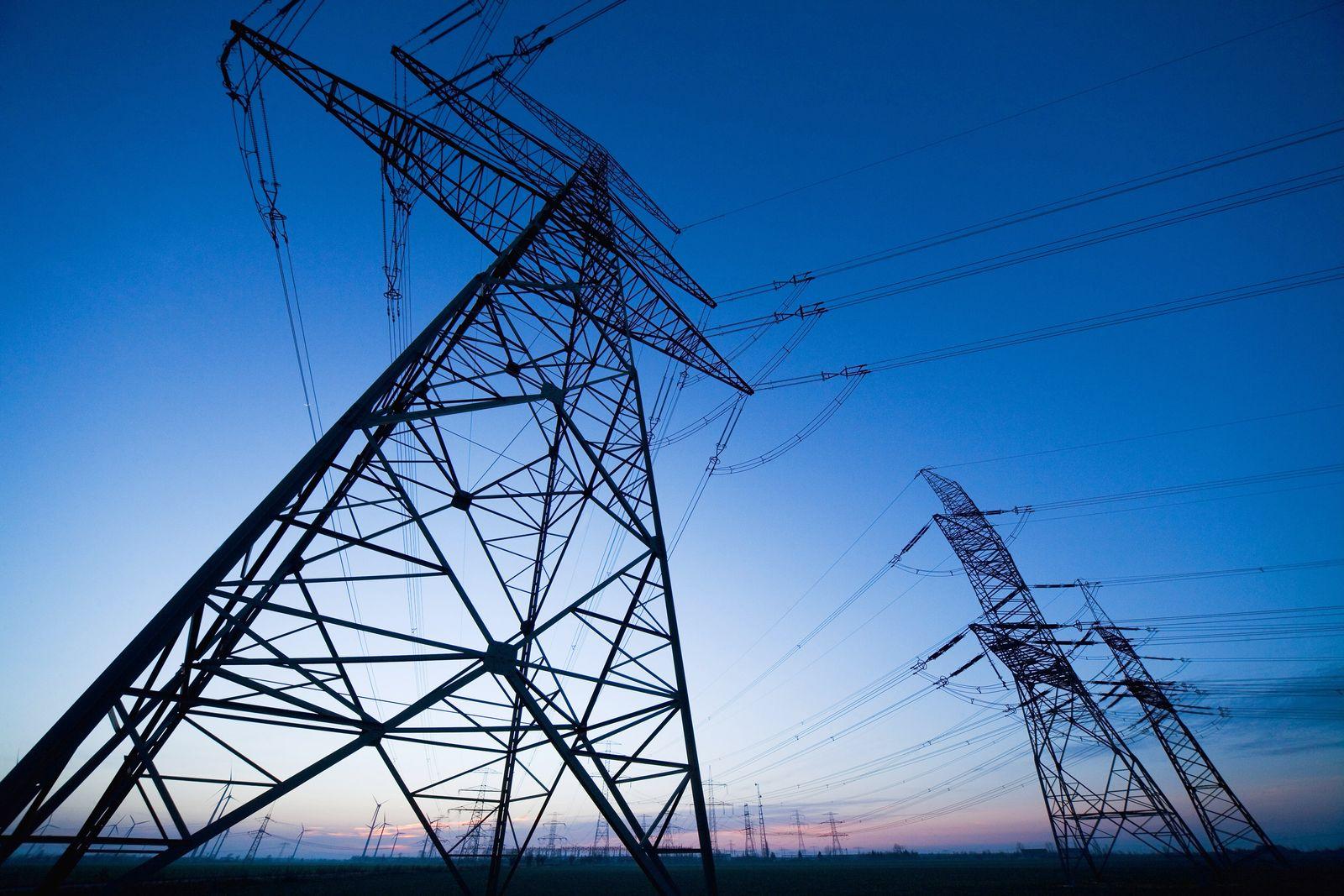Strommast / Energie