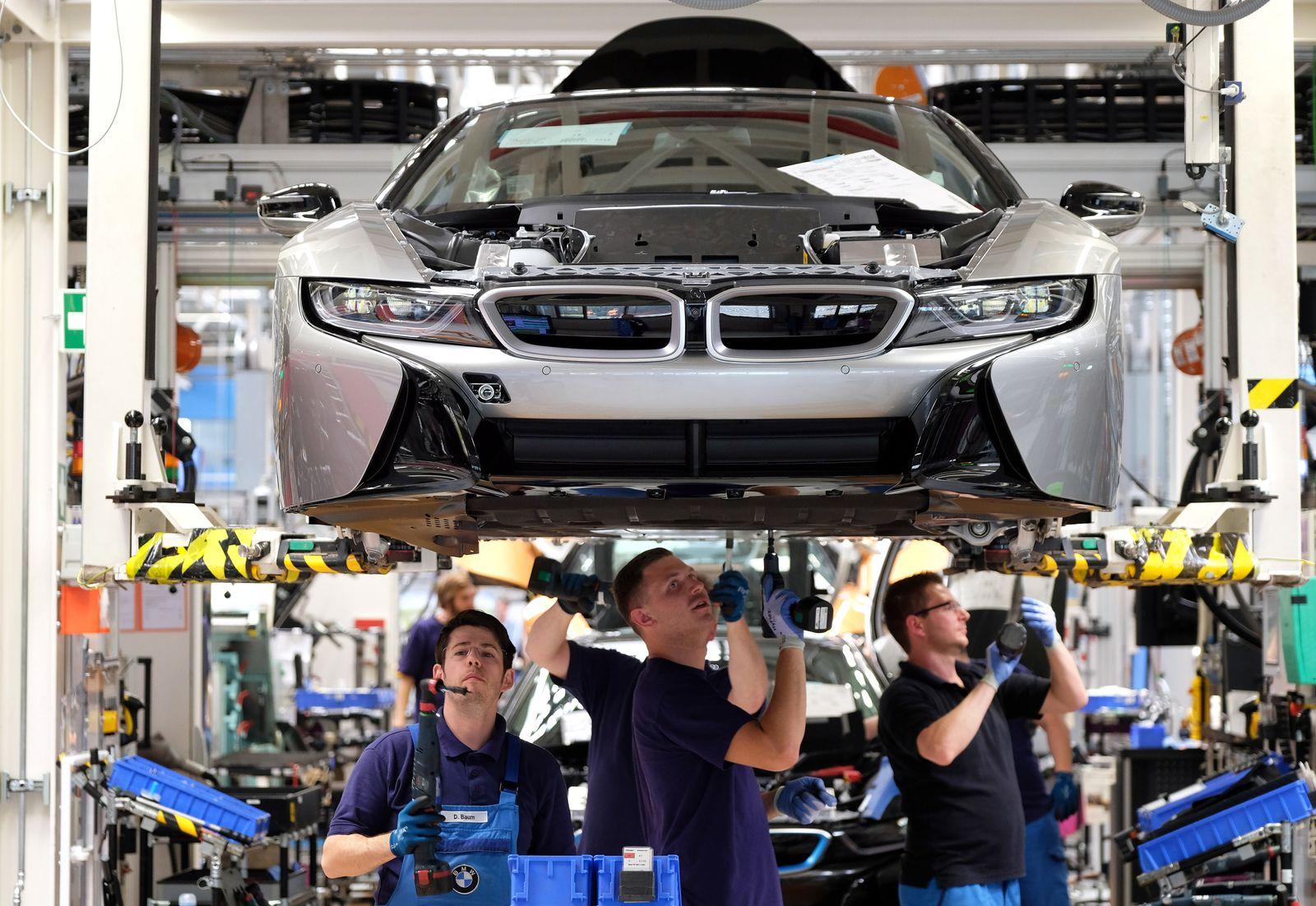 BMW Werk / Mitarbeiter / Leipzig